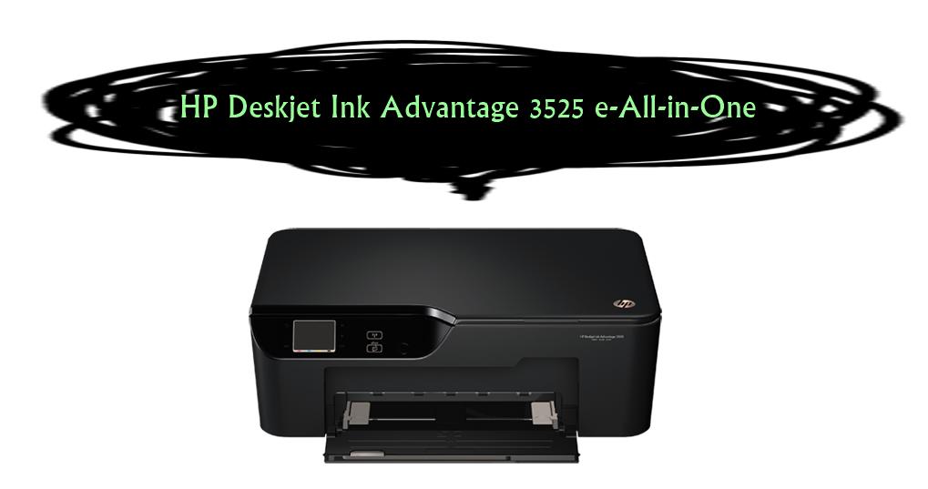 HP Deskjet Ink Advantage 3525 e-All-in-One