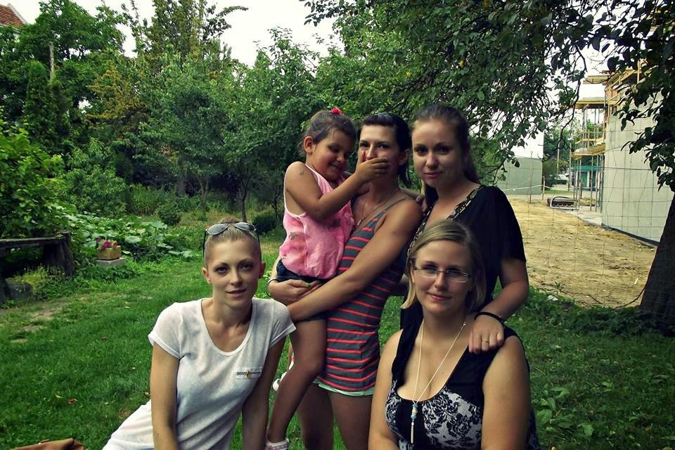 od lewej: Pati, Miszka, Julia, Asia i ja :)