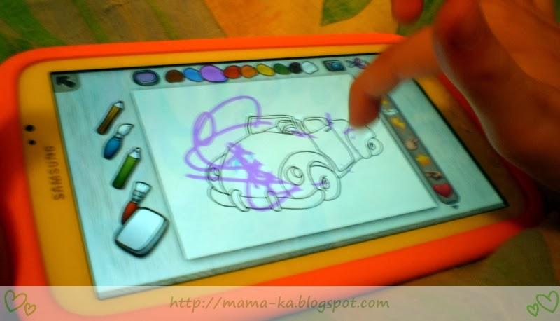 tablet galaxy tab 3 kids