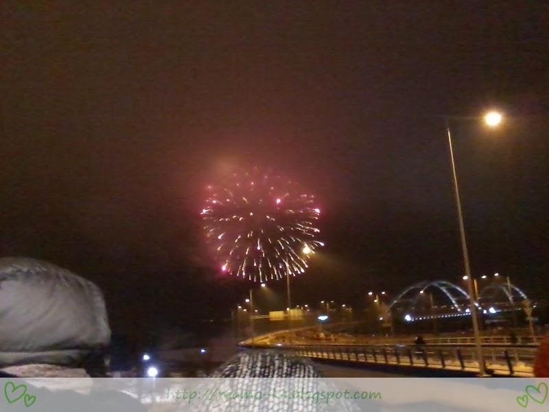 Otwarcie drugiego mostu w Toruniu