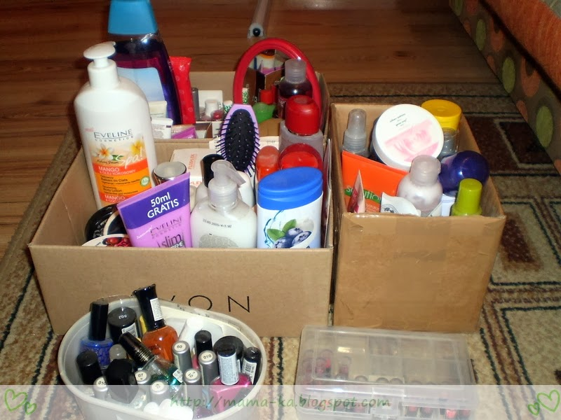 Ponoć mam za dużo kosmetyków?