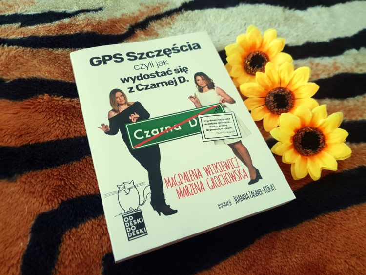 GPS szczęścia czarna d.